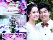 Đám cưới Nhật Kim Anh ngập màu tím lãng mạn