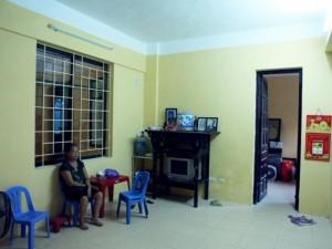 Sau vụ sập nhà cổ: Dân ở suốt trong nhà tạm vì chưa hoàn hồn
