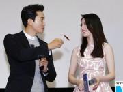 Giải trí - Song Seung Hun vô tư đút đồ ăn cho Lưu Diệc Phi