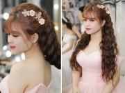 Làm đẹp - Trang điểm cô dâu xinh như công chúa để chụp ảnh ngoại cảnh