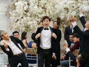 Trịnh Thăng Bình quậy tưng trong đám cưới người yêu cũ