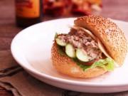 Bếp Eva - Bữa sáng nhanh gọn với bánh mì kẹp salad cá ngừ