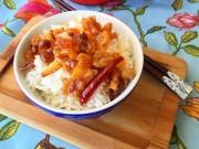 Bếp Eva - Tóp mỡ rim mắm chua cay mặn ngọt ngày mưa