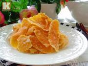 Bếp Eva - Trời lạnh nhâm nhi mứt vỏ cam thơm phức