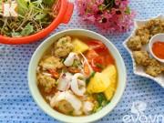 Bếp Eva - Bún hải sản nóng hổi cho bữa sáng