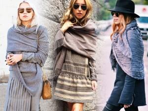 Cách quàng khăn ấm giúp chị em sống sót qua mùa đông