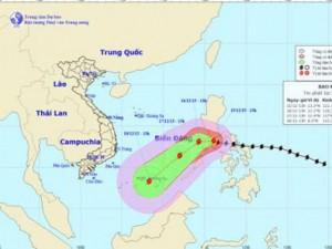 Siêu bão Melor mạnh lên, hướng vào phía quần đảo Trường Sa