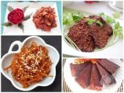 Bếp Eva - Nhâm nhi những món khô ngon tuyệt hảo cho ngày lạnh
