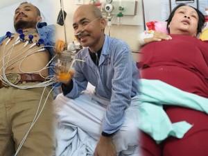 Bệnh tật bủa vây sao Việt năm 2015