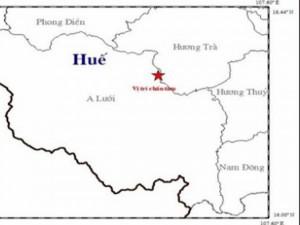 Thừa Thiên- Huế: Động đất lần thứ 6 trong tháng 12