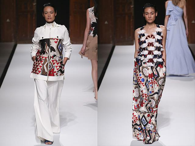 Thùy Trang, Thanh Thảo cùng trúng show tại Paris Fashion Week