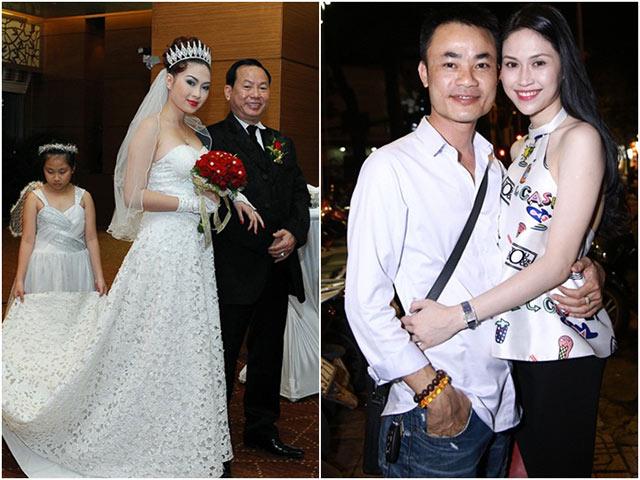 2 người đẹp Việt bỏ chạy ngay sau hôn lễ