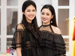 Chị em Á hậu Thanh Tú Trà My lần đầu tái xuất khiến ống kính bấn loạn