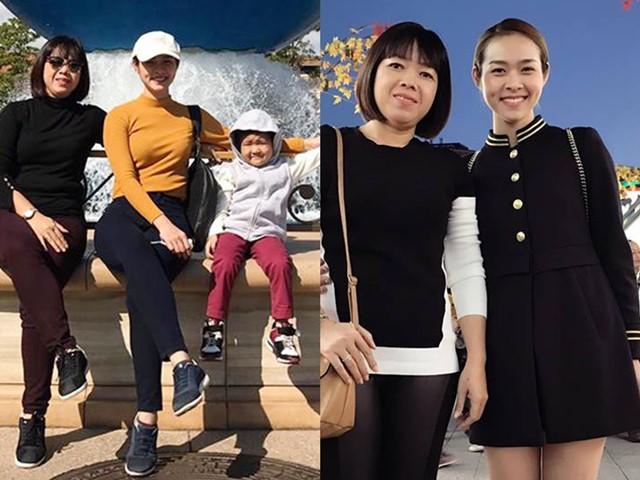 Diệp Bảo Ngọc đưa mẹ và con trai đi vi vu Nhật Bản