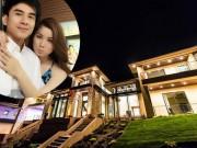 Nhà đẹp - Biệt thự to như khách sạn 5 sao của vợ chồng Đan Trường ở Mỹ