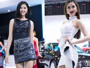 Đào Thị Hà đẹp lấn lướt học trò Phạm Hương trên sàn diễn thời trang