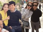 Giải trí - Hoa hậu Thu Thảo hạnh phúc đi du lịch châu Âu với bạn trai đại gia