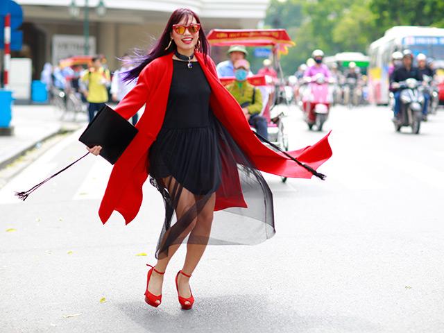 Street style chất phát ngất của tín đồ thời trang Hà Nội