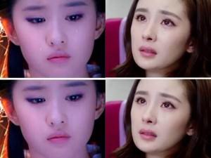 """Ngỡ ngàng với khuôn mặt của sao sau khi bị """"hô biến"""" nước mắt"""