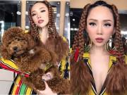 Thời trang - Tròn mắt với kiểu tóc lấy cảm hứng từ cún cưng của Tóc Tiên