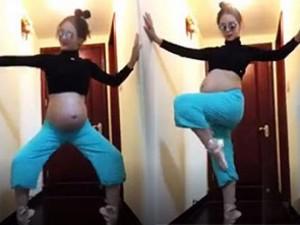 Bà bầu xinh đẹp nhảy Gangnam Style cực sung gây sốt