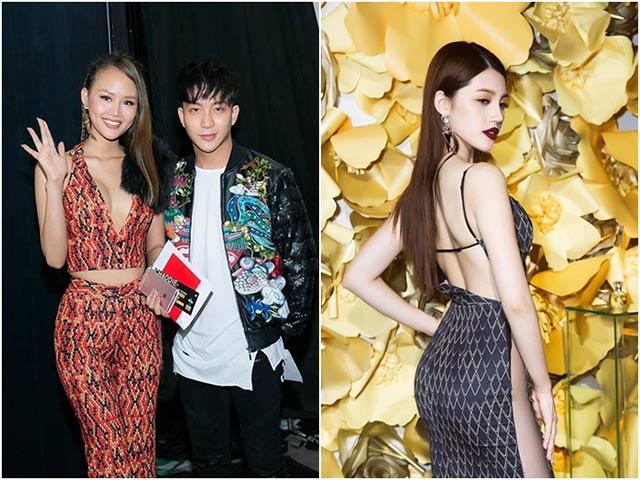 Bê Trần gây chú ý khi kết đôi cùng Lâm Thùy Anh đi cổ vũ Jolie Nguyễn