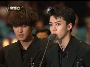 Lịch sử lặp lại, EXO bỏ túi giải thưởng danh giá nhất MAMA 2016