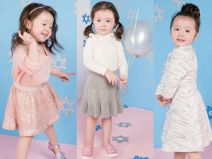 Con gái Elly Trần tiếp tục gây sốt khi khoe váy áo Giáng Sinh siêu đẹp