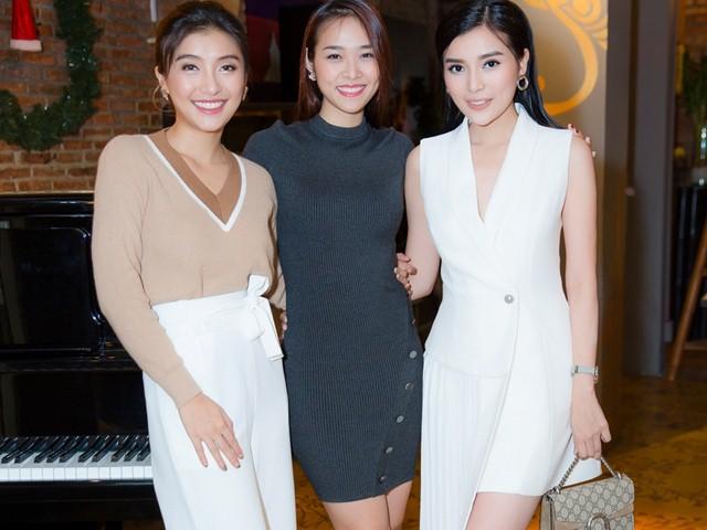 Tiêu Châu Như Quỳnh thân thiết như chị em với Diệp Bảo Ngọc, Cao Thái Hà