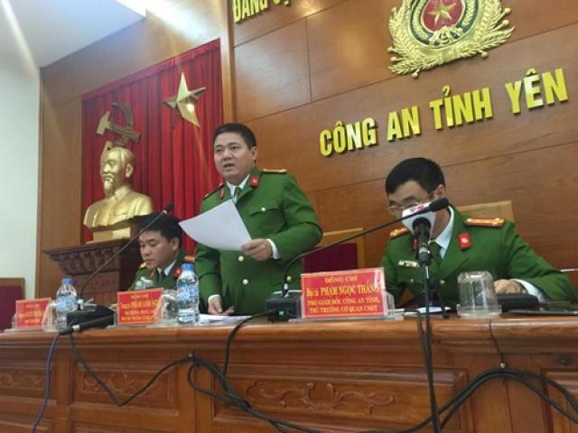 Công bố kết quả điều tra vụ bắn chết Bí thư Tỉnh ủy Yên Bái