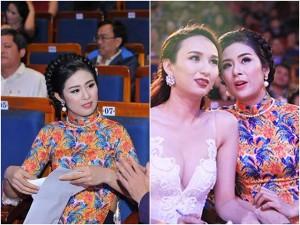 Hoa hậu Ngọc Hân, Ngọc Diễm thân thiết như chị em trong sự kiện