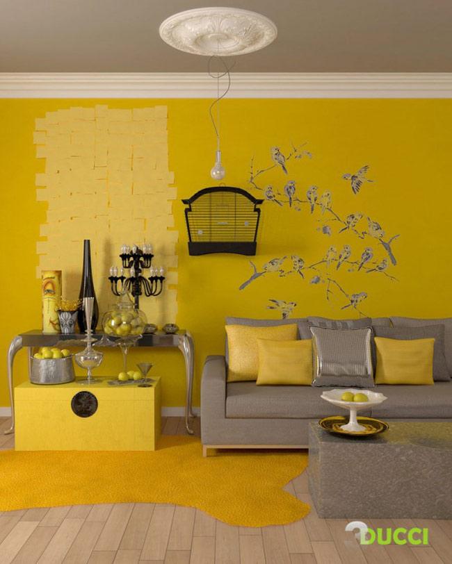 Tại sao nhiều người thích sơn nhà màu vàng? - Quan điểm Phong thuỷ học cổ kim đều cho rằng người Việt thuộc về phương Nam, phương Nam thuộc Hoả. Bởi vậy màu vàng được coi là màu hoà hợp với người phương Nam. Màu vàng cũng là màu tạo cảm giác yên tâm, an cư bền vững.