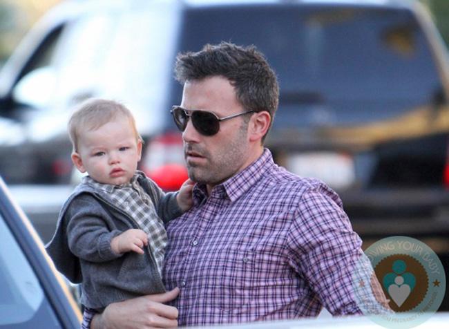 Samuel Affleck thế hệ F1 của nam diễn viên tài năng và điển trai Ben Affleck và Jennifer Garner.