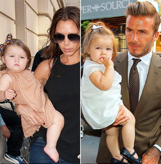 'Tiểu công chúa' vạn người mê, 'quý cô hàng hiệu' Harper Beckham là cái tên 'hot' nhất trong danh sách này.