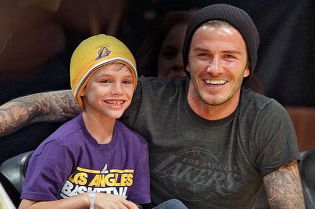 4. Các nhóc tuổi teen được yêu thích nhất Romeo Beckham, 10 tuổi, con trai thứ 2 nhà Beck - Vic.