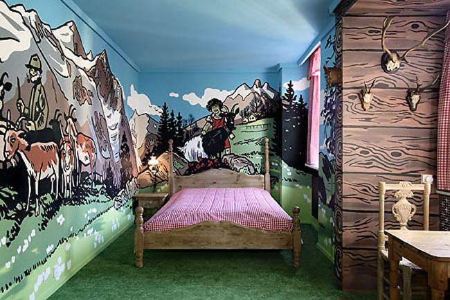 Dành cho các nhóc thích căn phòng như một thế giới sinh động.