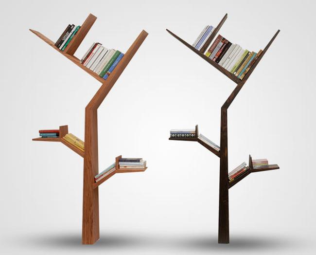 Kệ sách hình cái cây, tại sao lại không nhỉ? Thật thích thú biết bao khi trưng trong nhà một chiếc kệ vừa đẹp mắt vừa có tính biểu tượng: cây tri thức.