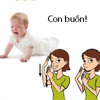 Ký hiệu nên dạy bé trước khi tập nói
