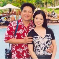 Vợ chồng Chí Trung thắm thiết thời trẻ