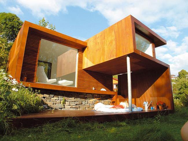 Bạn sở hữu một khu đất rộng với cây cối um tùm? Bạn thích sống trong một ngôi nhà giản đơn nhưng vô cùng thoải mái, tự do? Vậy thì đây chính là ngôi nhà rất thú vị mà bạn nên tham khảo.