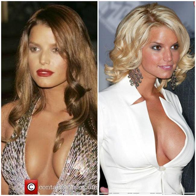 Jessica Simpson  Simpson là chủ của một thương  hiệu thời trang và phụ kiện có giá trị hàng tỷ đô la. Cô luôn chứng  minh rằng mình là người có đầu óc kinh doanh chứ không chỉ tìm kiếm sự  nổi tiếng nhờ bộ ngực lớn.