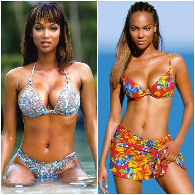 Trước khi làm sáng lập ra chương trình truyền hình thực tế American's  Next Top Model cô còn sở hữu chương trình talk show The Tyra Banks Show.  Bầu ngực của cô được đánh giá là một trong những bầu ngực tự nhiên đẹp  nhất.