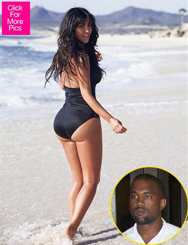 Tính tới thời điểm hiện nay chưa có một người đẹp nào có thể vượt mặc được Kim Kardashian với danh hiệu 'siêu vòng 3'.