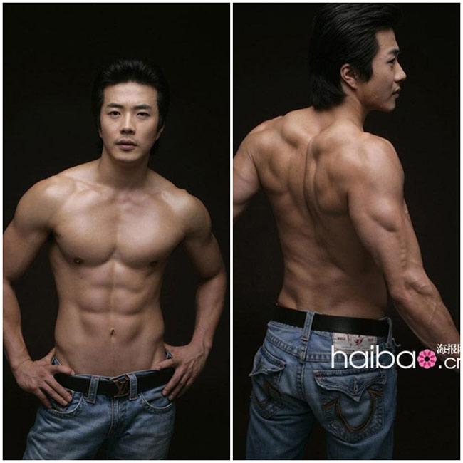 Diễn viên Kwon Sang Woo: sinh năm 1976, anh sở hữu chiều cao 1m82.
