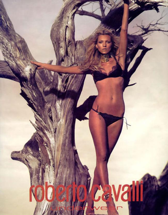 Kate Moss, cô người mẫu nổi tiếng và cũng nhiều tai tiếng.