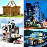 Top 15 tòa nhà độc đáo nhất thế giới