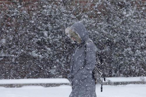 Bão tuyết kinh hoàng lại hoành hành nước Mỹ