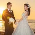 Giải trí - Ngọc Quyên và chồng lãng mạn trên biển