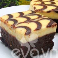 Bánh creamcheese brownies: Vụng cũng làm được!