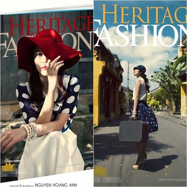 Nhờ sự hỗ trợ của ekip thời trang, trang điểm chuyên nghiệp, Tăng Thanh Hà luôn đẹp hút hồn.